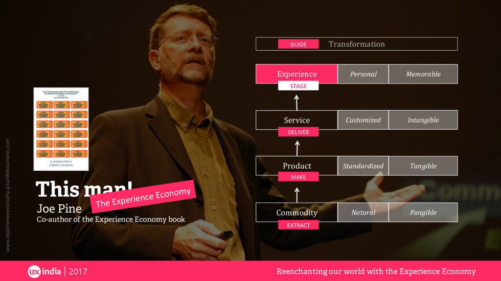 Joe Pine Co-author of the Experience Economy bo...