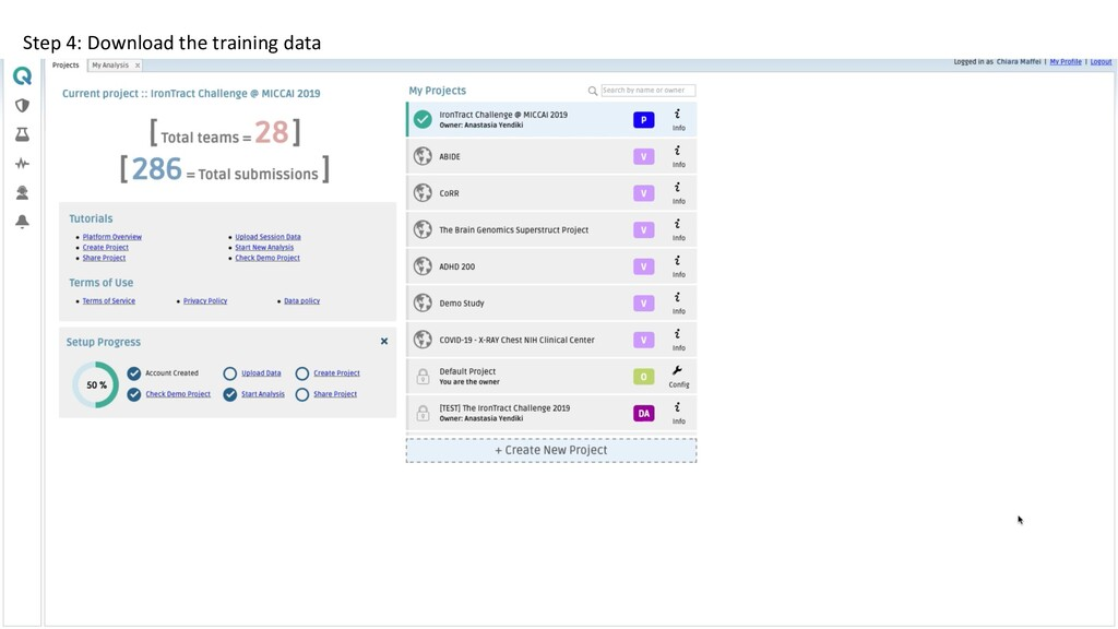 Step 4: Download the training data