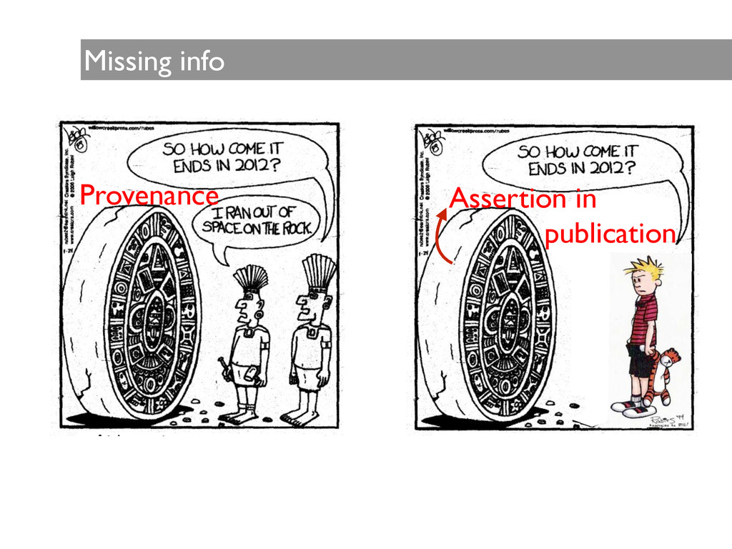 Missing info Assertion in   publication Prove...