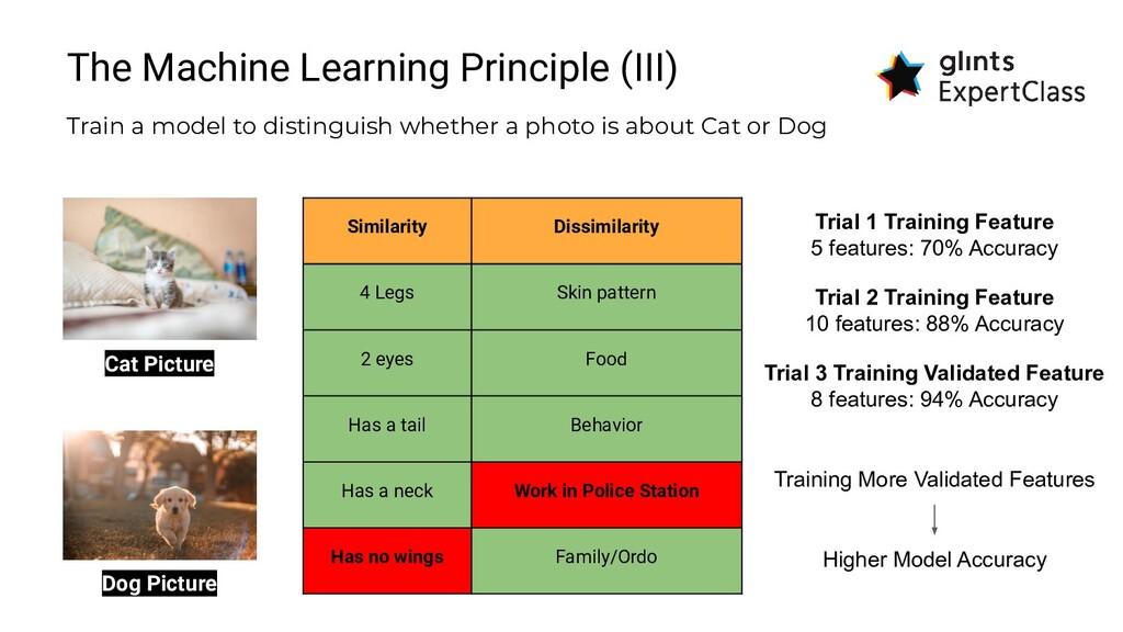 The Machine Learning Principle (III) Train a mo...