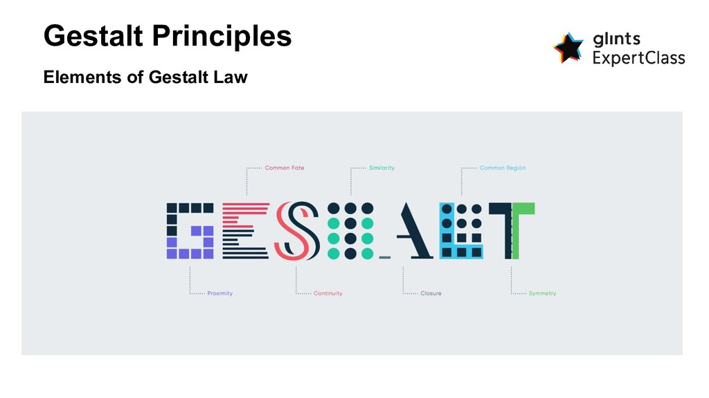 Gestalt Principles Elements of Gestalt Law