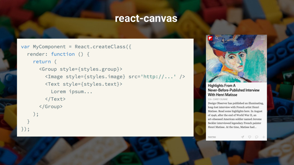 @operatino react-canvas