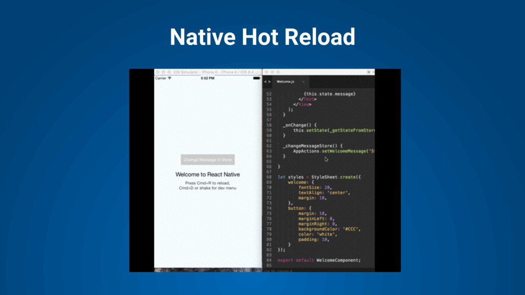 Native Hot Reload