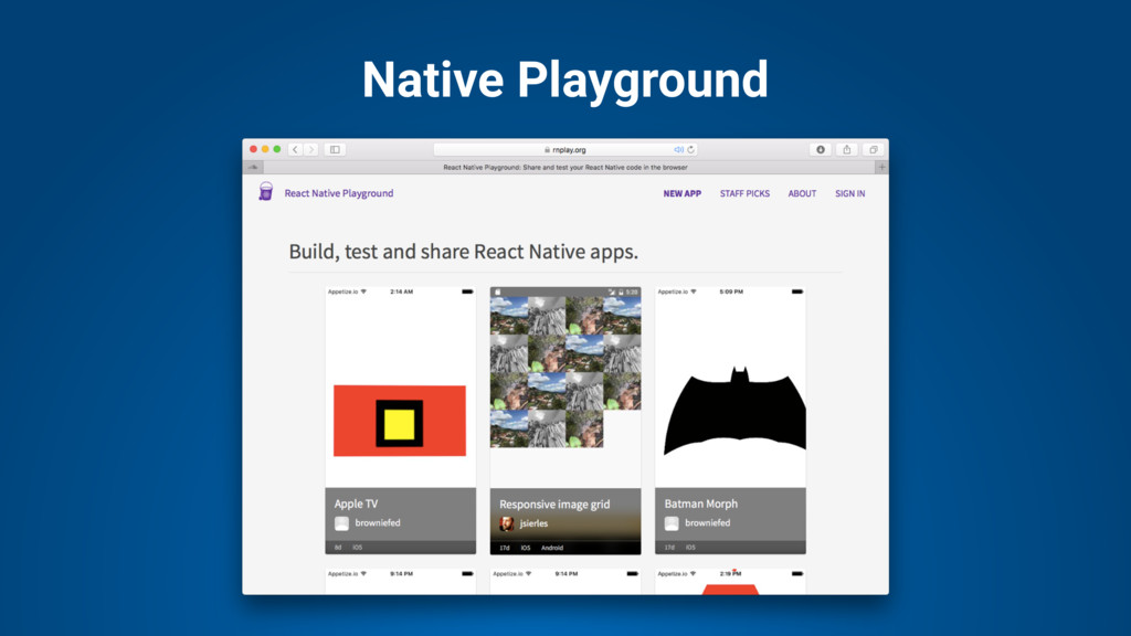 Native Playground