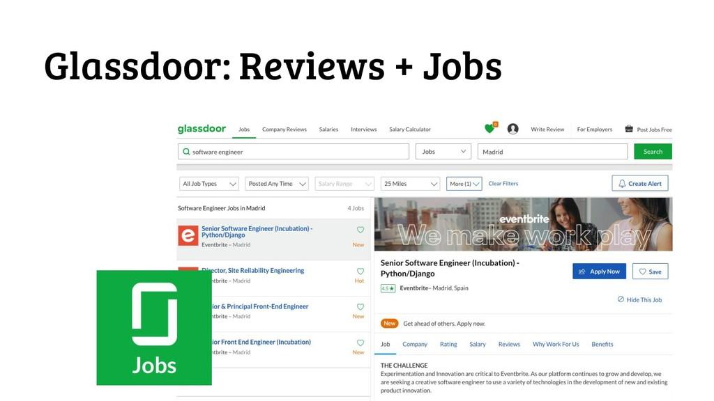 #futuroFDI @jgferreiro Glassdoor: Reviews + Jobs