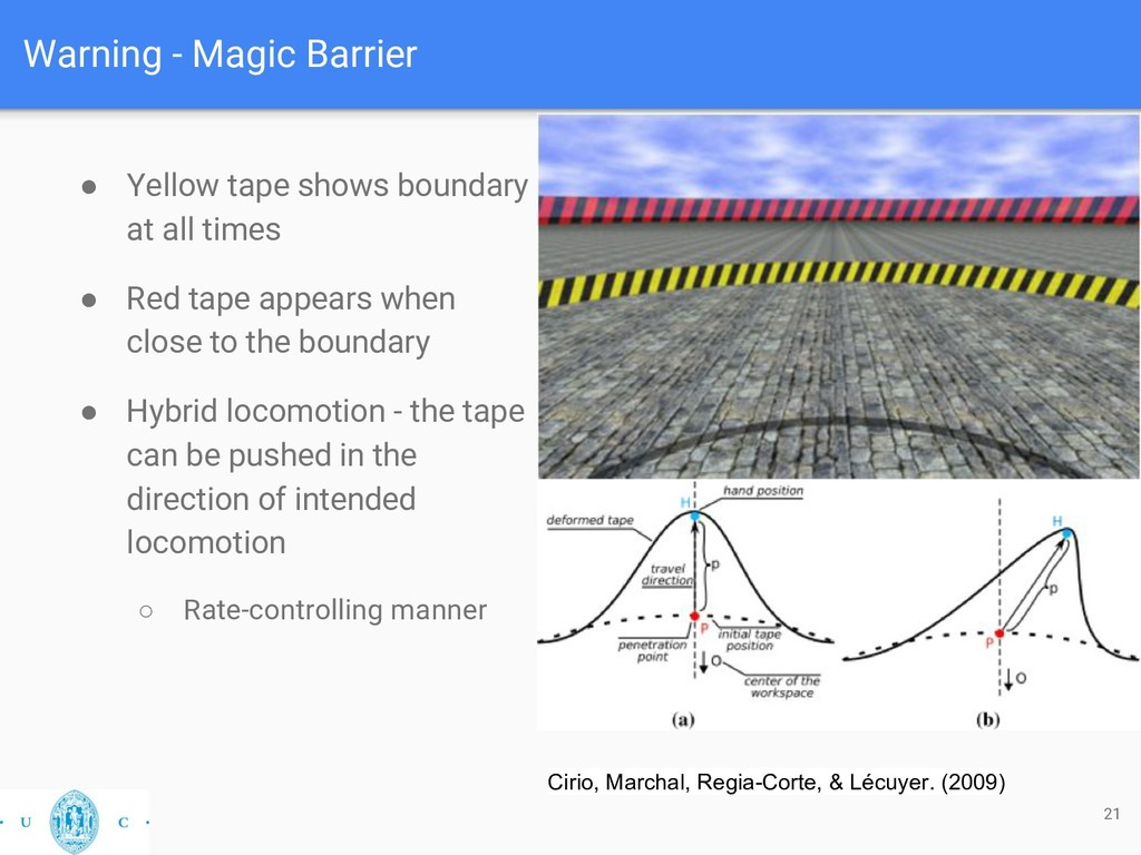 Warning - Magic Barrier 21 Cirio, Marchal, Regi...
