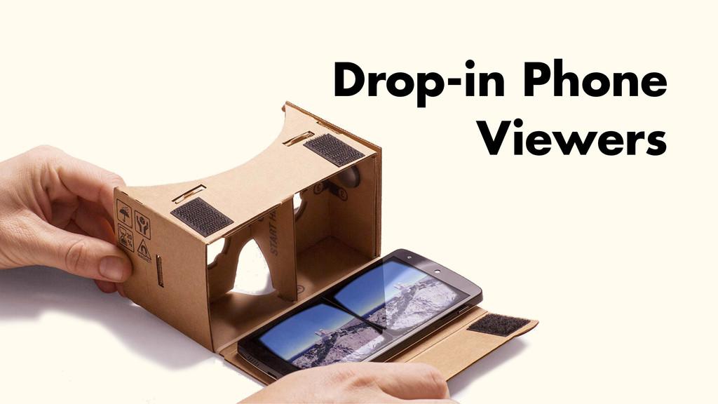 Drop-in Phone Viewers