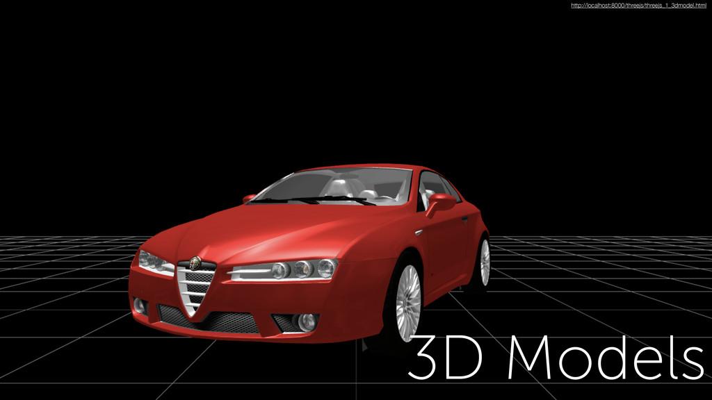 3D Models http://localhost:8000/threejs/threejs...