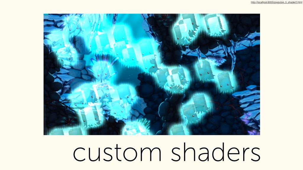 custom shaders http://localhost:8000/pixijs/pix...