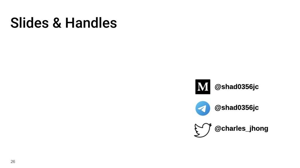 Slides & Handles 26
