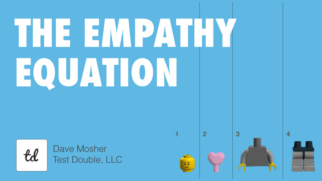 Dave Mosher Test Double, LLC 1 2 3 4 THE EMPATH...