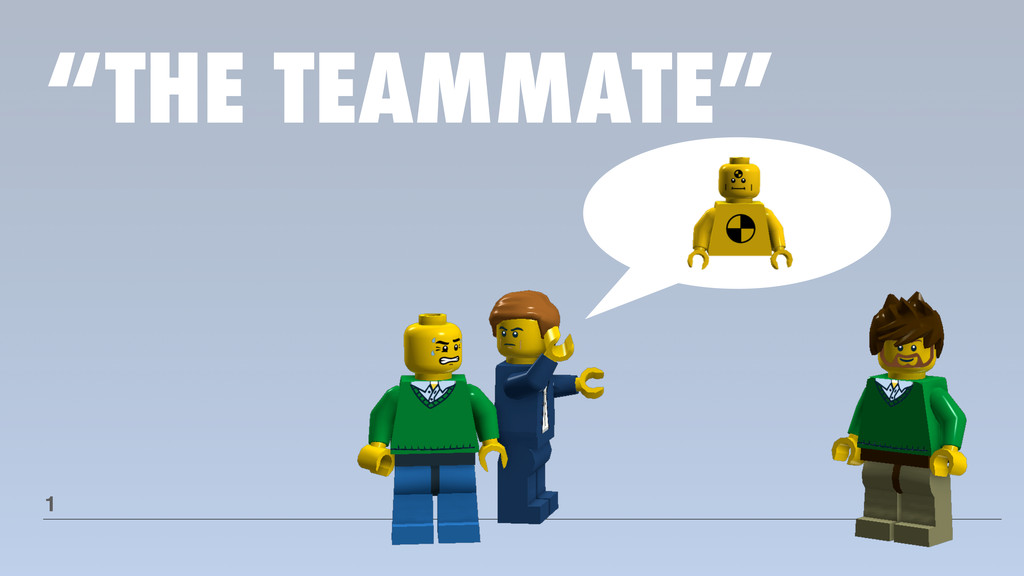 """""""THE TEAMMATE"""" 1"""