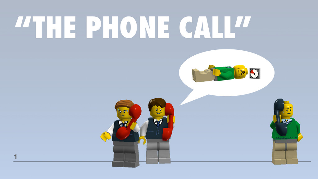 """THE PHONE CALL"" 1"