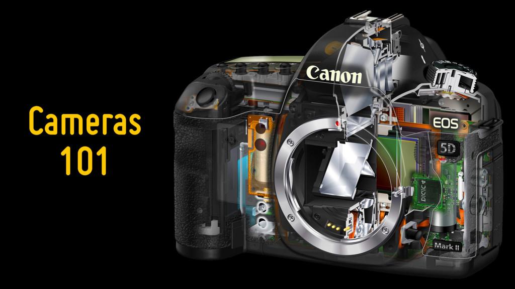 Cameras 101