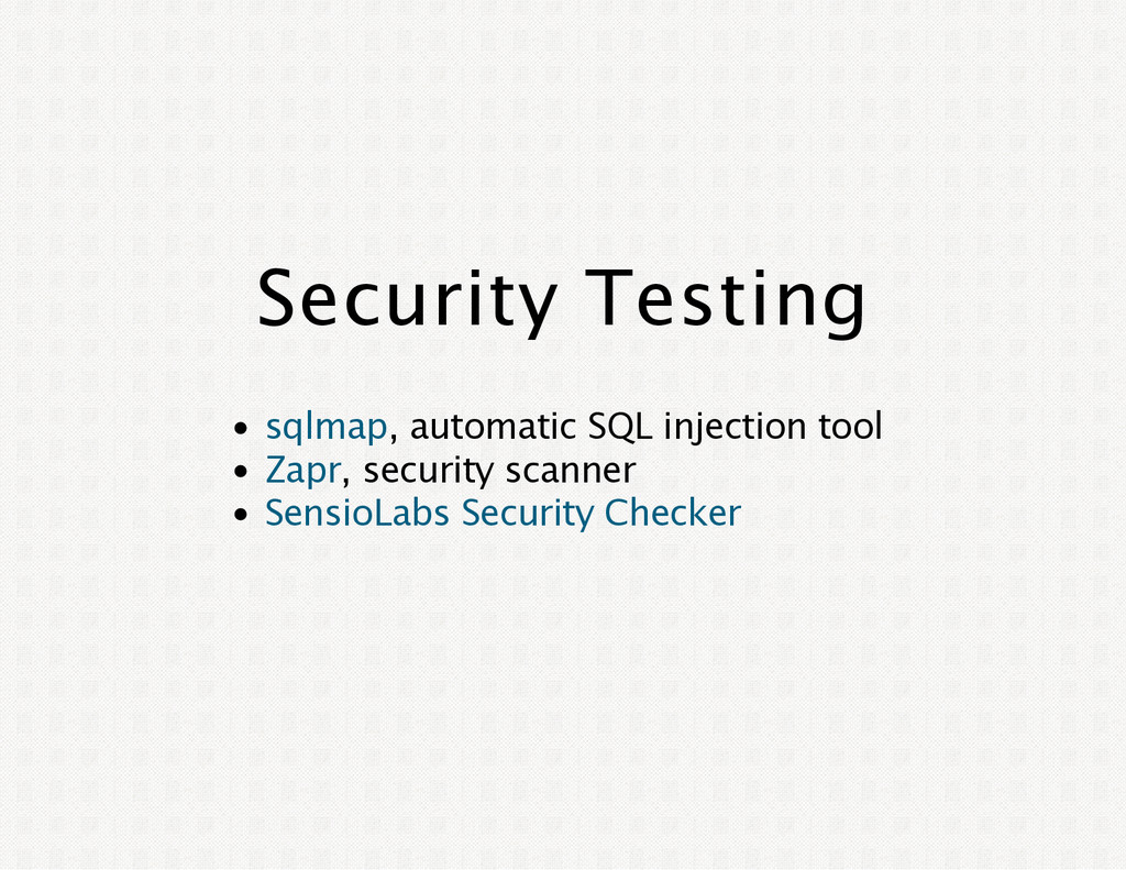 Security Testing , automatic SQL injection tool...