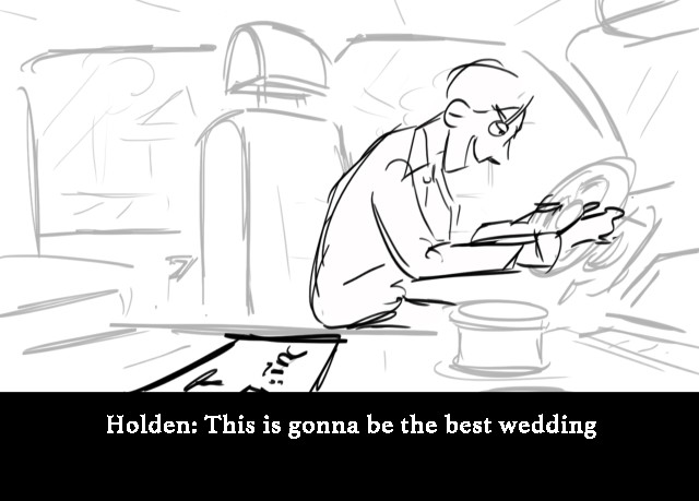 Holden: This is gonna be the best wedding