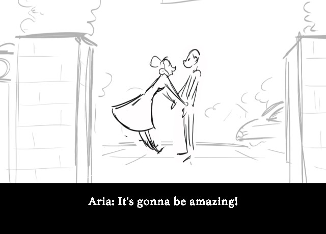 Aria: It's gonna be amazing!