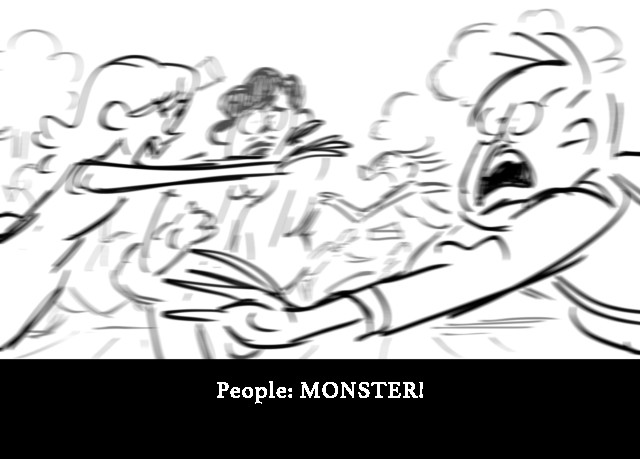 People: MONSTER!