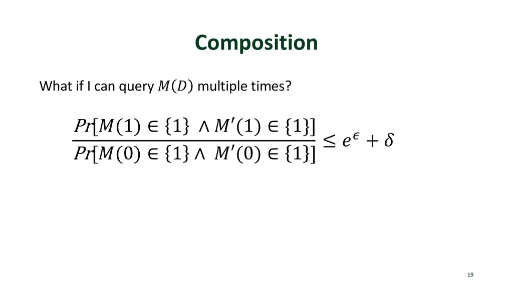 "Composition What if I can query ! "" multiple ti..."