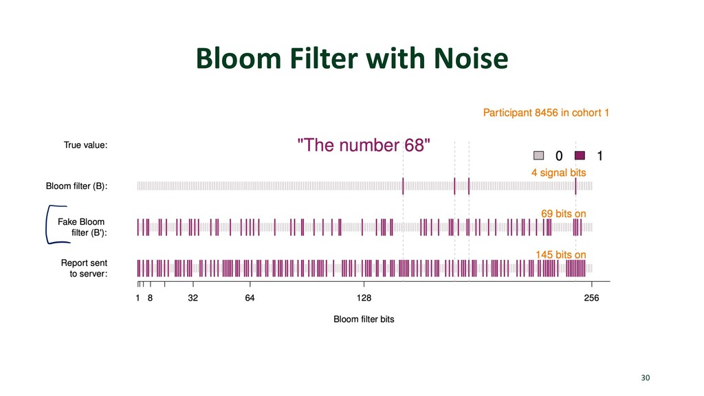 Bloom Filter with Noise 30