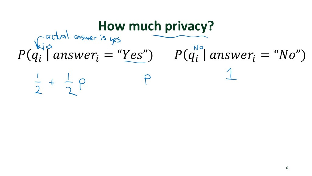 "How much privacy? 6 ! ""# $%&'()# = "",(&"") ! ""# ..."