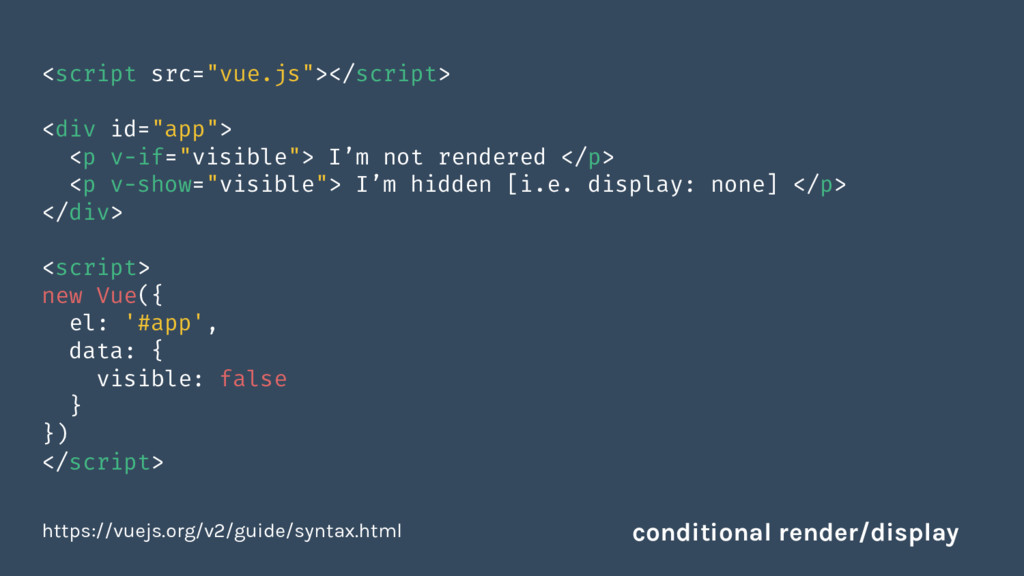 """<script src=""""vue.js""""></script> <div id=""""app""""> <..."""