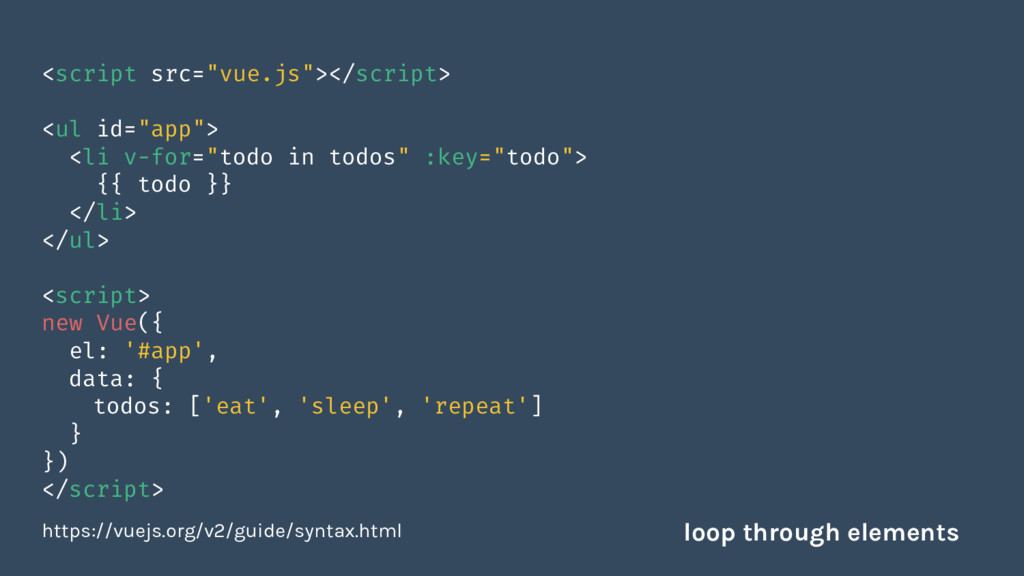 """<script src=""""vue.js""""></script> <ul id=""""app""""> <l..."""