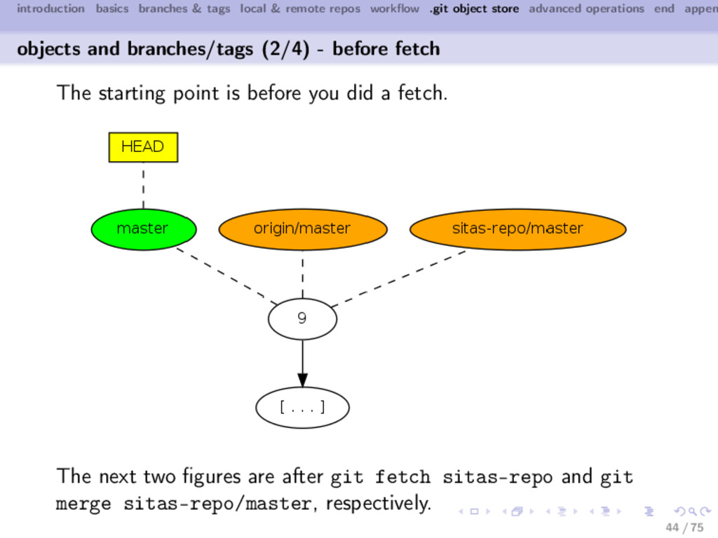 introduction basics branches & tags local & rem...