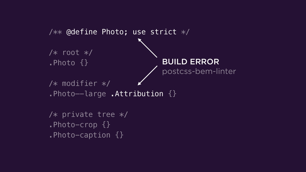 /** @define Photo; use strict */ ! /* root */ ....