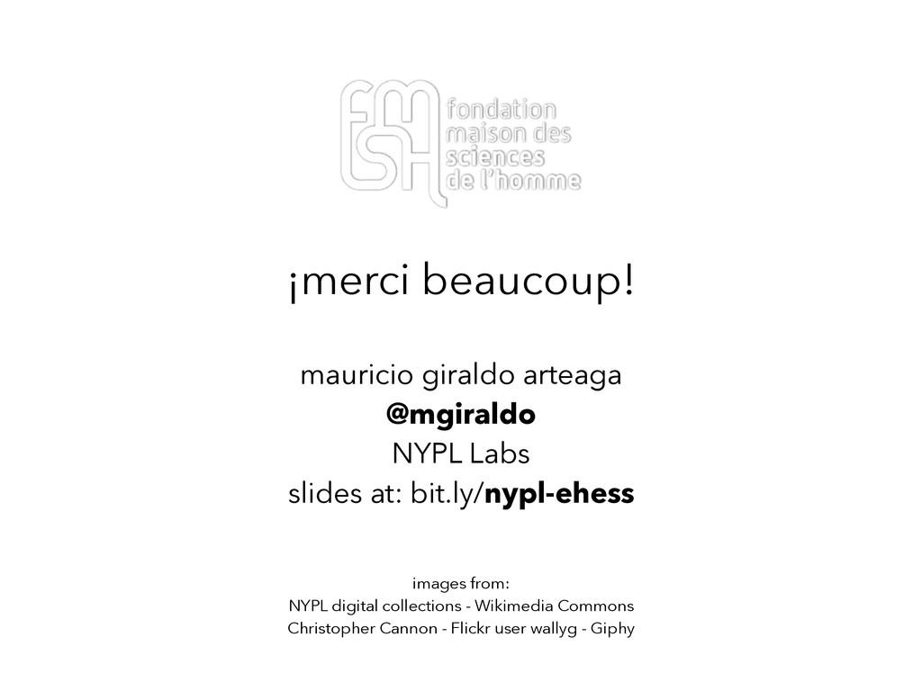 ¡merci beaucoup! mauricio giraldo arteaga @mgir...