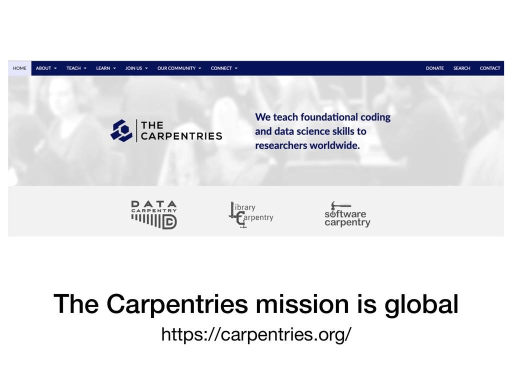 https://carpentries.org/ The Carpentries missio...
