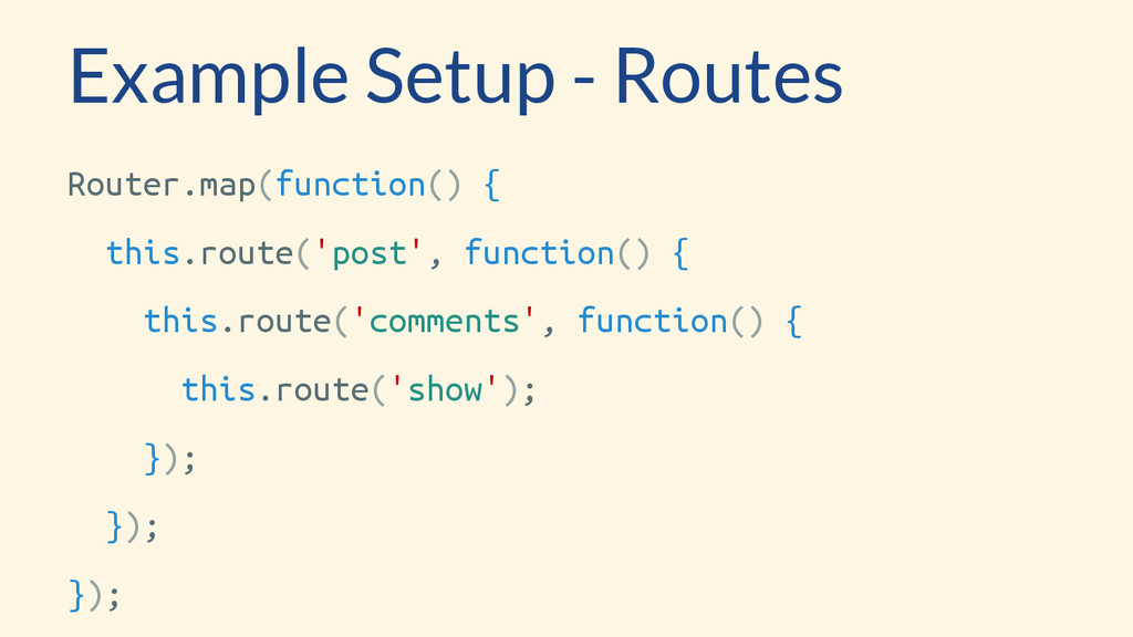 Router.map(function() { this.route('post', func...