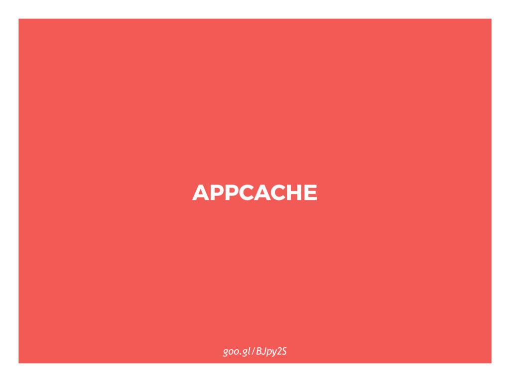 APPCACHE goo.gl/BJpy2S