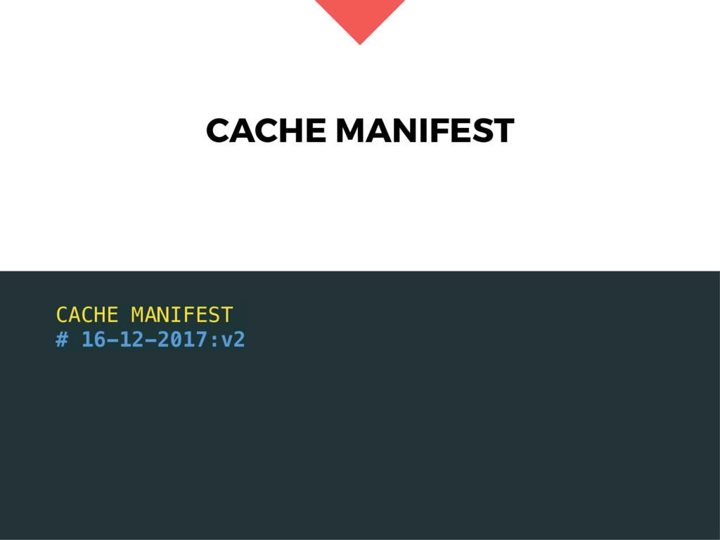 CACHE MANIFEST CACHE MANIFEST # 16-12-2017:v2
