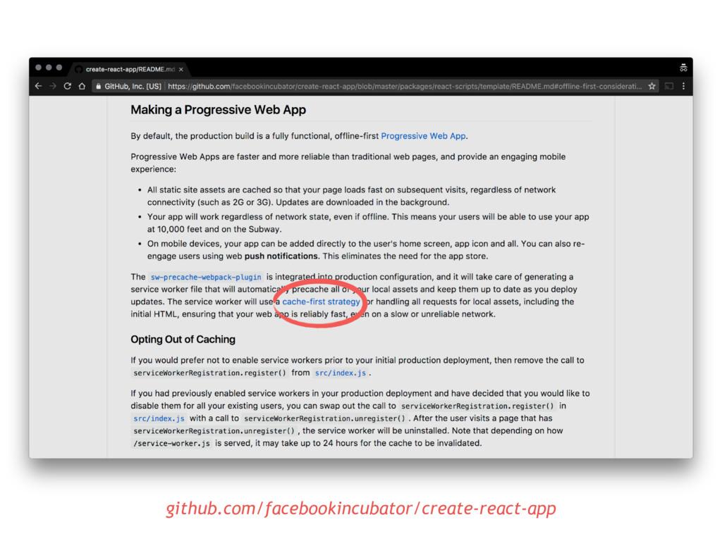 github.com/facebookincubator/create-react-app