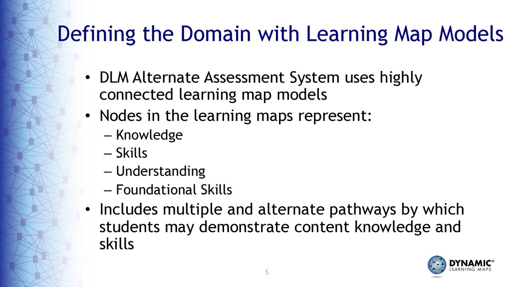 5 Defining the Domain with Learning Map Models ...