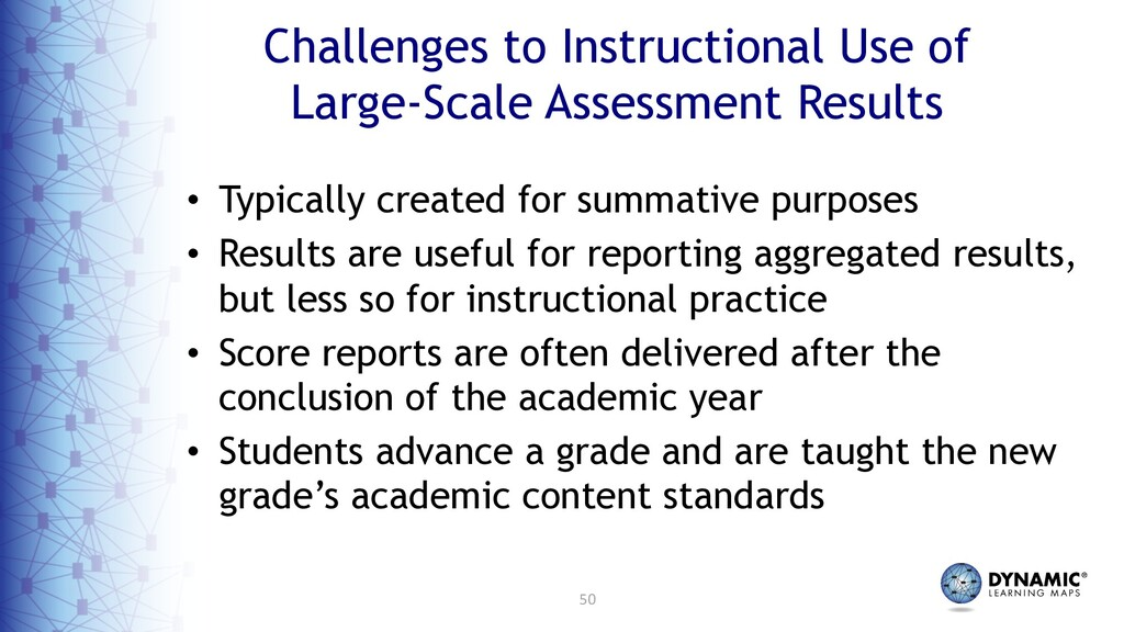 50 Challenges to Instructional Use of Large-Sca...