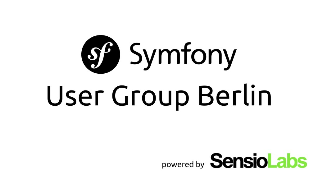 User Group Berlin powered by