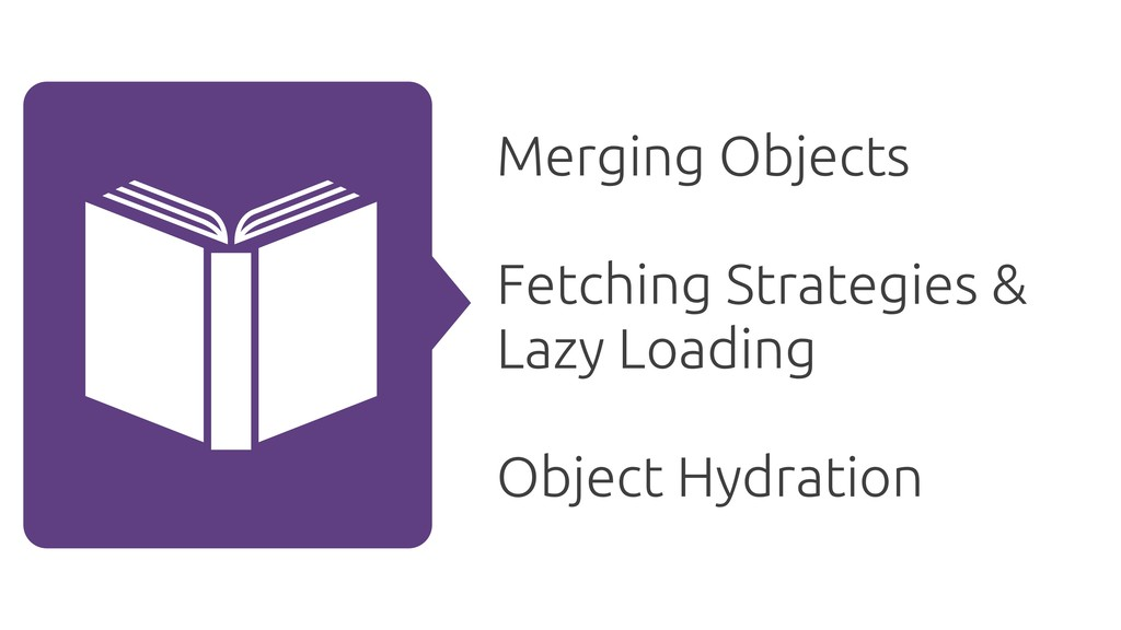 Merging Objects Fetching Strategies & Lazy Load...