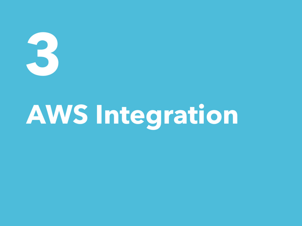 3 AWS Integration