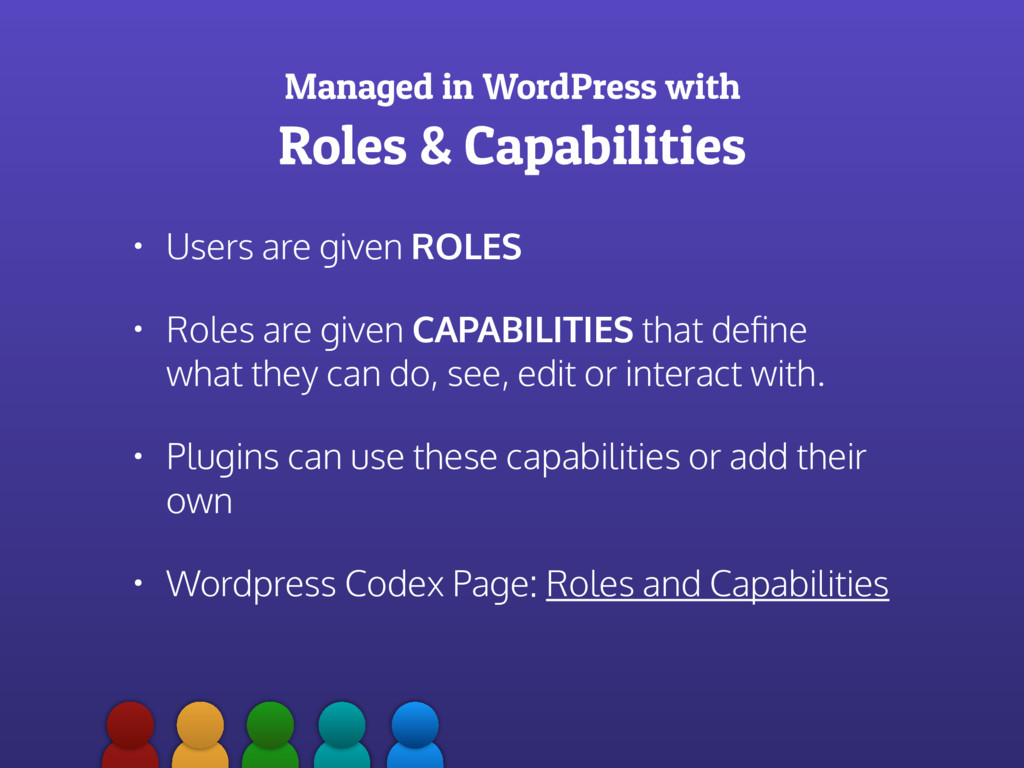 Managed in WordPress with