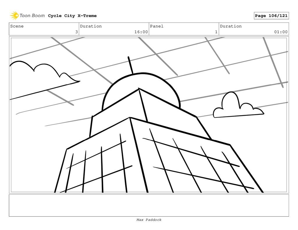 Scene 3 Duration 16:00 Panel 1 Duration 01:00 C...