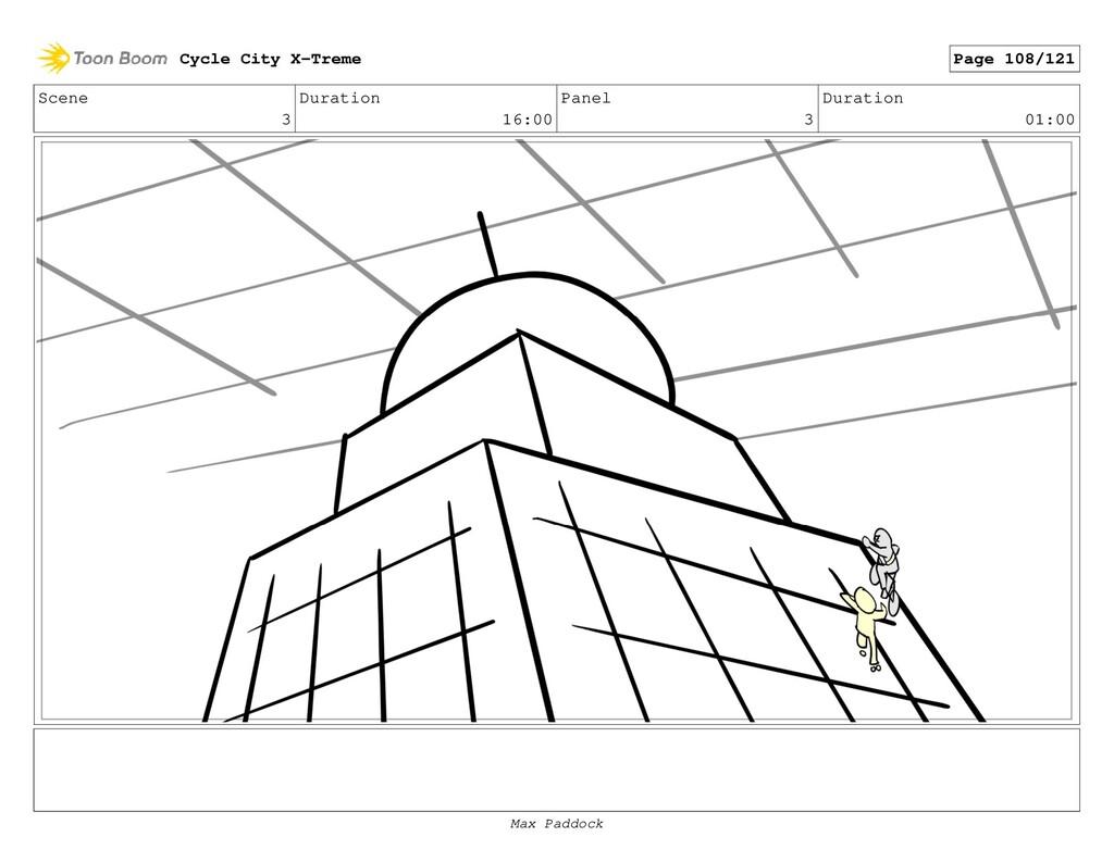 Scene 3 Duration 16:00 Panel 3 Duration 01:00 C...