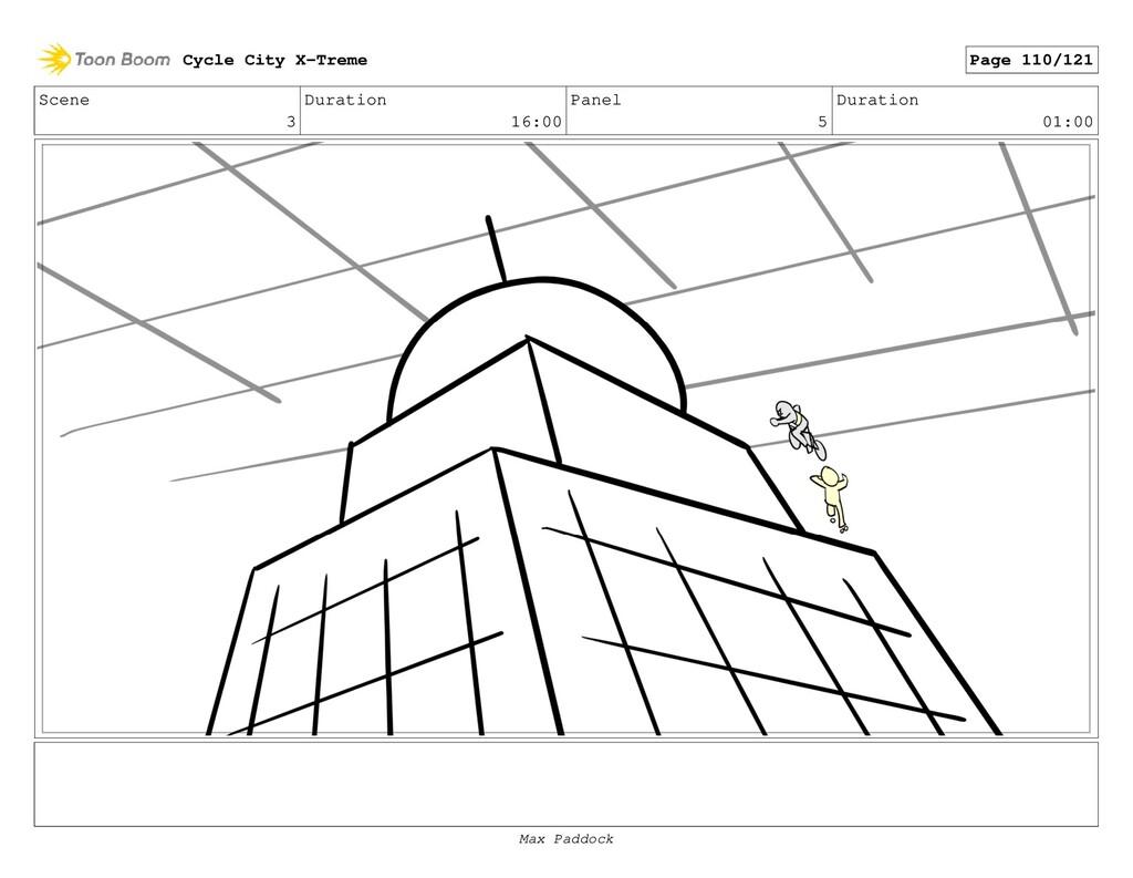 Scene 3 Duration 16:00 Panel 5 Duration 01:00 C...