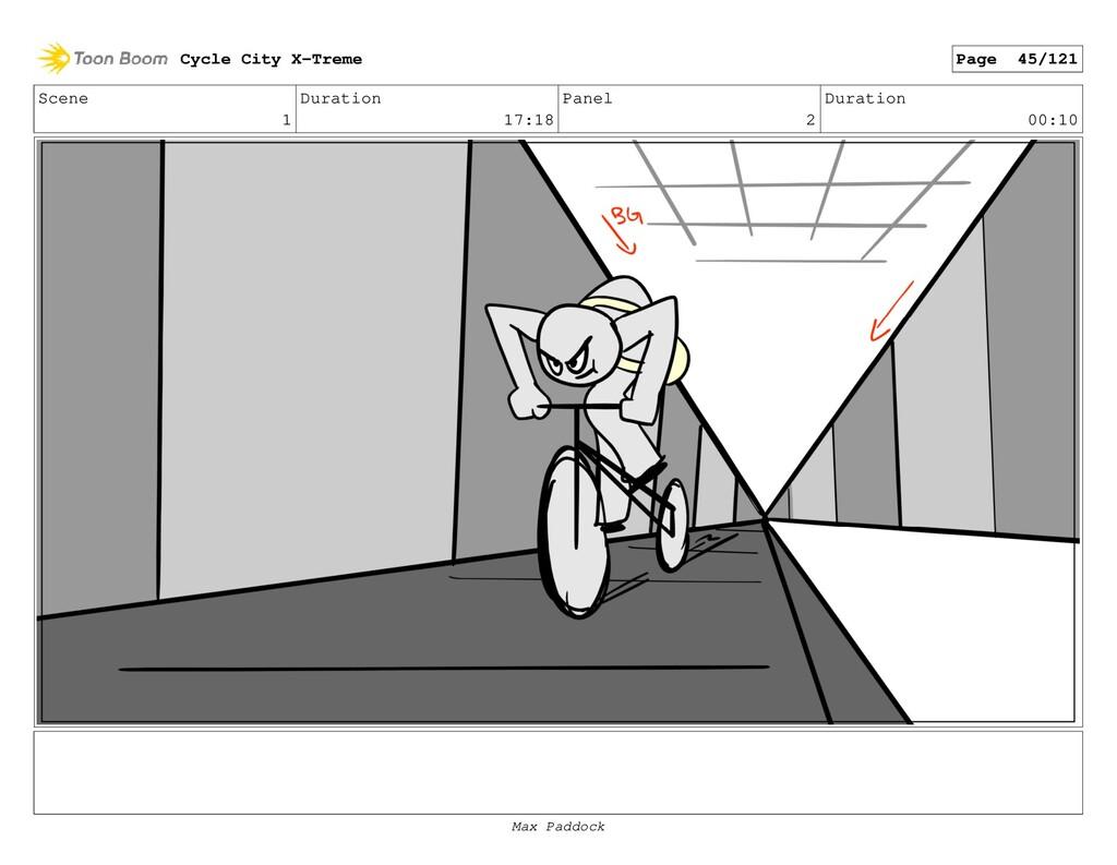 Scene 1 Duration 17:18 Panel 2 Duration 00:10 C...