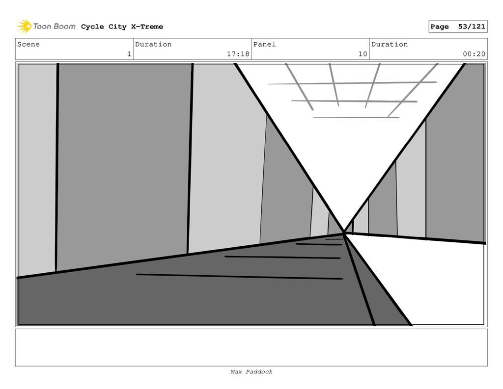 Scene 1 Duration 17:18 Panel 10 Duration 00:20 ...