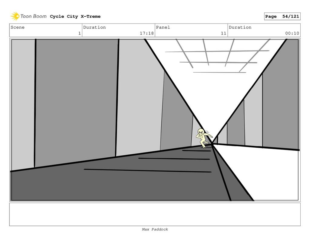 Scene 1 Duration 17:18 Panel 11 Duration 00:10 ...