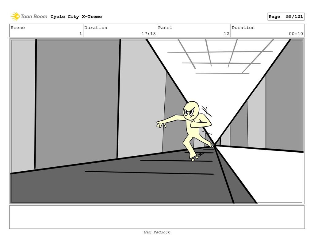 Scene 1 Duration 17:18 Panel 12 Duration 00:10 ...