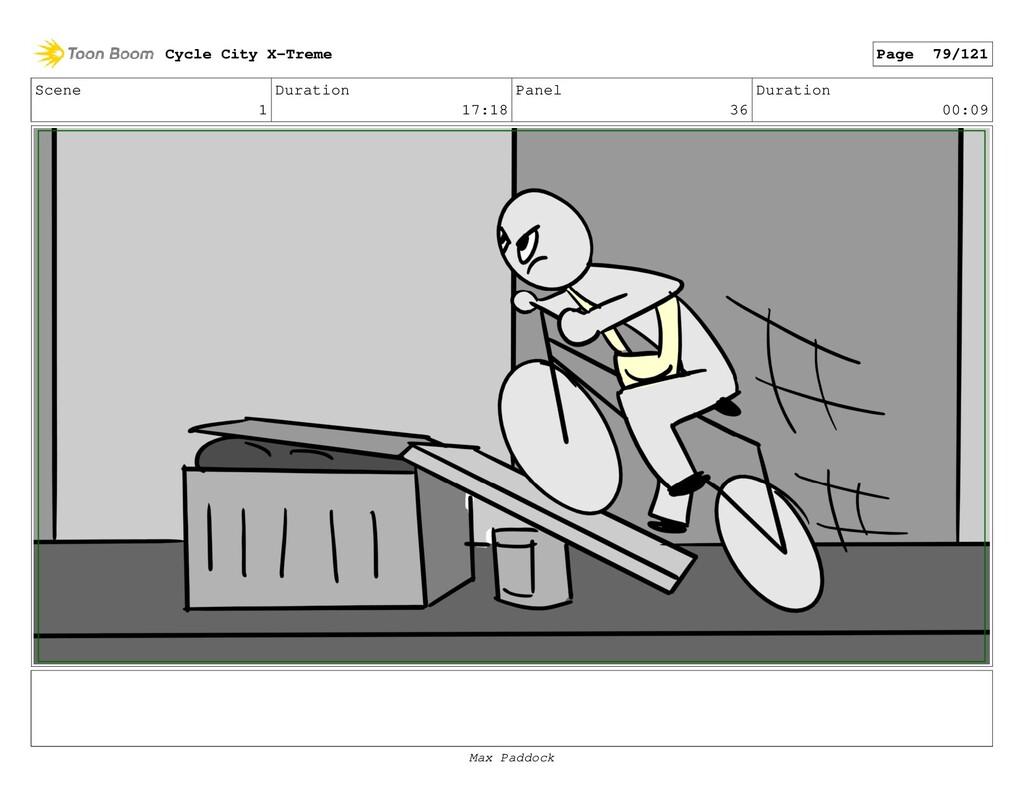Scene 1 Duration 17:18 Panel 36 Duration 00:09 ...