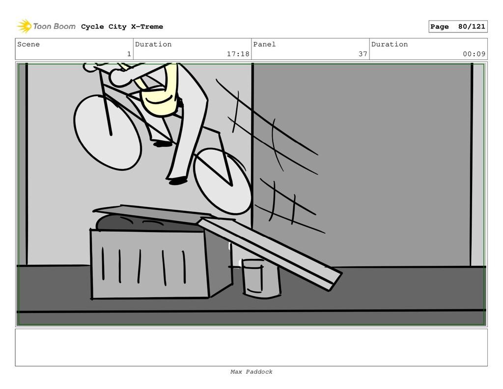 Scene 1 Duration 17:18 Panel 37 Duration 00:09 ...